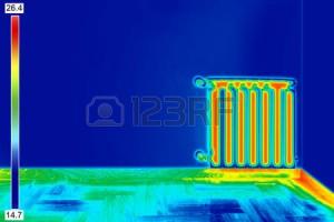 Termal kamera ile ısı farkı